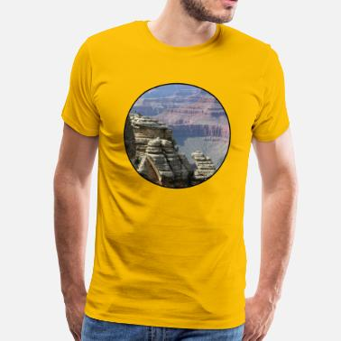Stylish Nature - Mountains - Forest - Photography - Cool T - Mannen Premium T-shirt