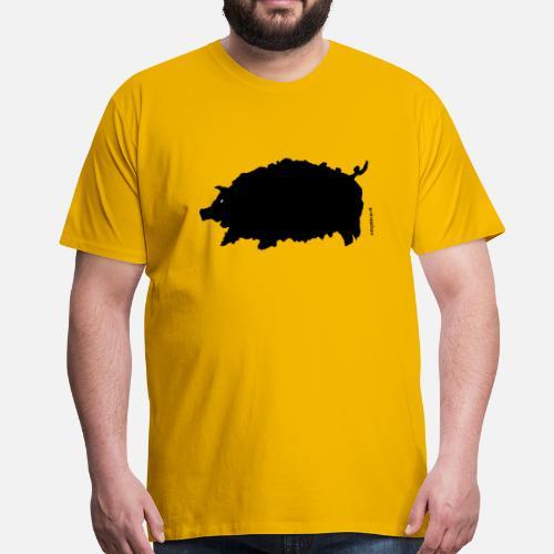 ed01df8afe1a0 La chemise de cochon T-shirt premium Homme   Spreadshirt