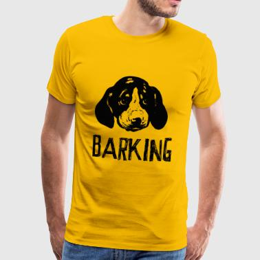 Barking Dogs Barking - Men's Premium T-Shirt