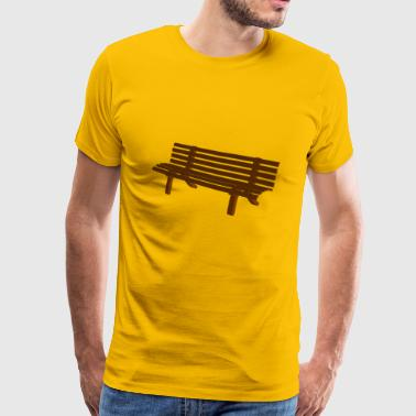 Bank - Mannen Premium T-shirt