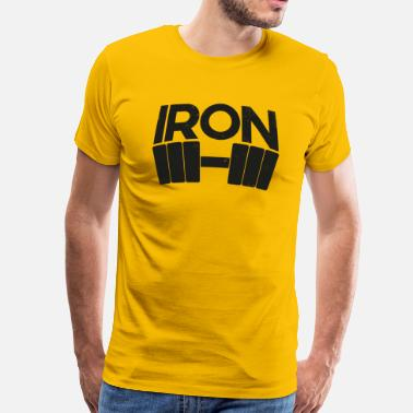 Curtain Iron - Men's Premium T-Shirt