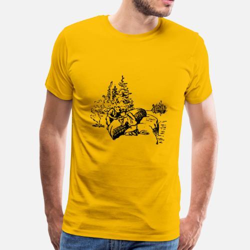 Vaquero ranchero wester caballo guardabosques sheriff camiseta premium  hombre spreadshirt rancheros de hombres jpg 500x500 Rancheros 0a624fcc01d
