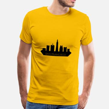 Francisco san francisco skyline - Men's Premium T-Shirt