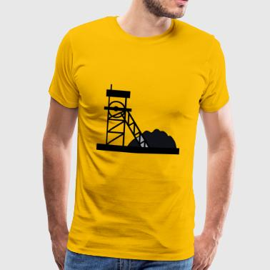 construction mechanic construction site maurer186 - Men's Premium T-Shirt