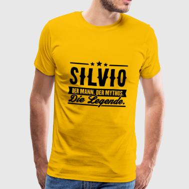 Man Myth Legend Silvio - Men's Premium T-Shirt