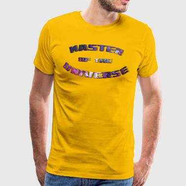 Master University MASTER OF THE UNIVERSE - Men's Premium T-Shirt
