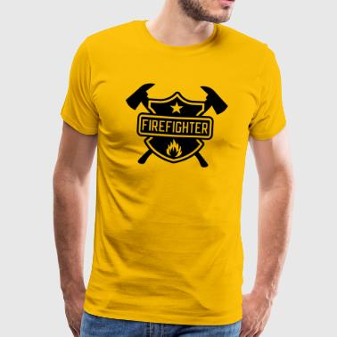 Firefighter - Männer Premium T-Shirt