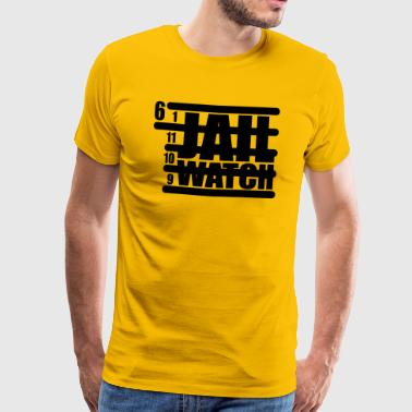 Jail Watch - Männer Premium T-Shirt
