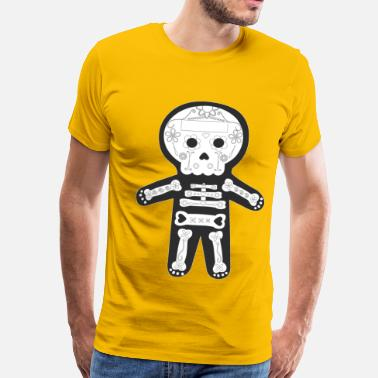 Mexican Day Of The Dead Day of the Dead, Mexican Skeleton - Men's Premium T-Shirt