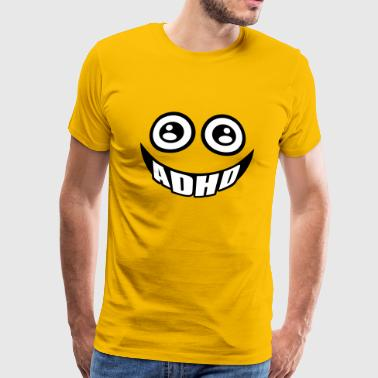 ADHD smile - Men's Premium T-Shirt