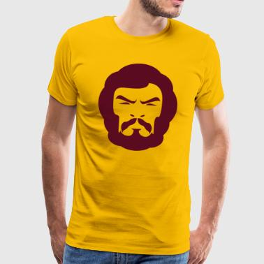 Hairy head  - Men's Premium T-Shirt