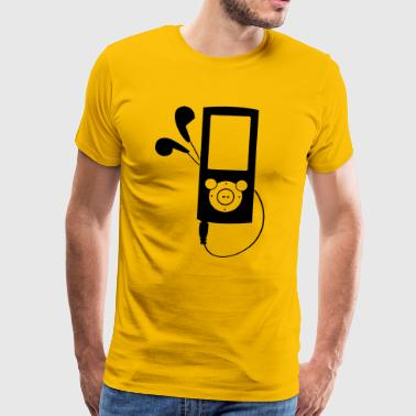Mp3 Player MP3 Player - Männer Premium T-Shirt