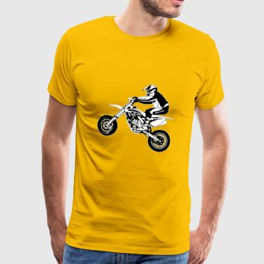 Supermoto - Men's Premium T-Shirt