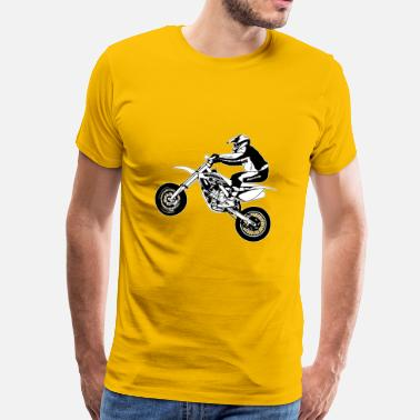 Motorcycle Supermoto - Supermotard - Men's Premium T-Shirt