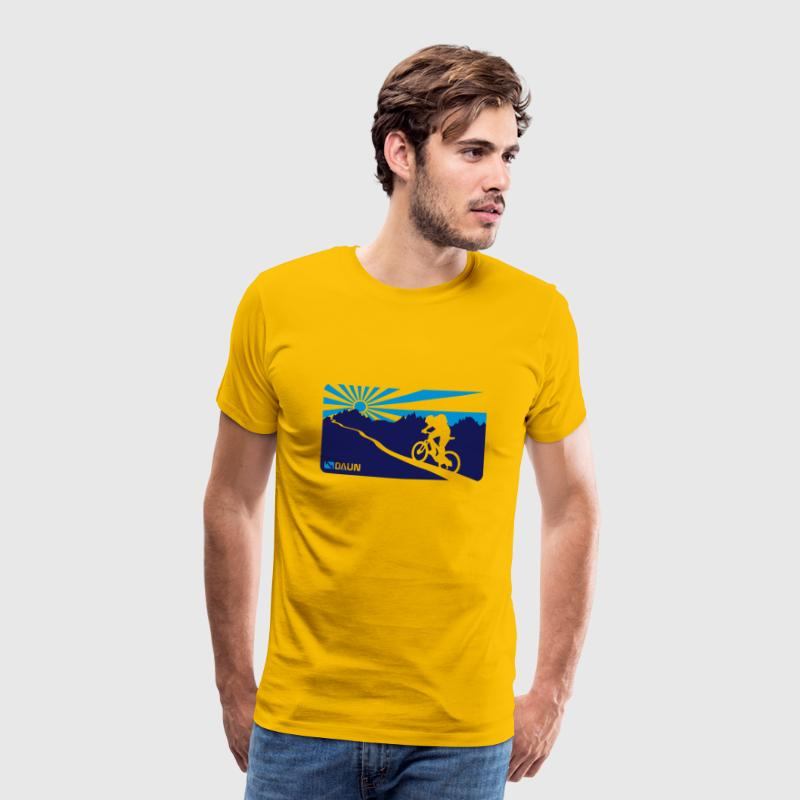 Mountainbike, trail,  - Men's Premium T-Shirt