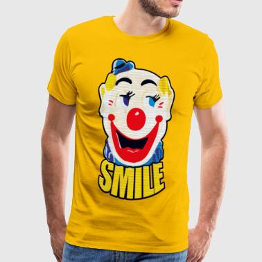 Keep Smiling - Mannen Premium T-shirt