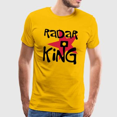 Radar King - Männer Premium T-Shirt