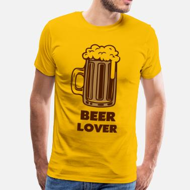 beer lover - T-shirt Premium Homme