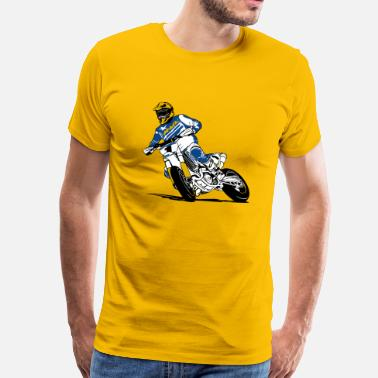 Enduro Supermoto - Supermotard - Men's Premium T-Shirt