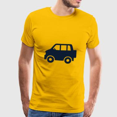 Sportscar Car - Men's Premium T-Shirt