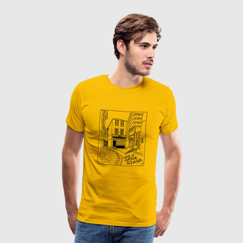 The Land of Green Ginger, Hull - Men's Premium T-Shirt