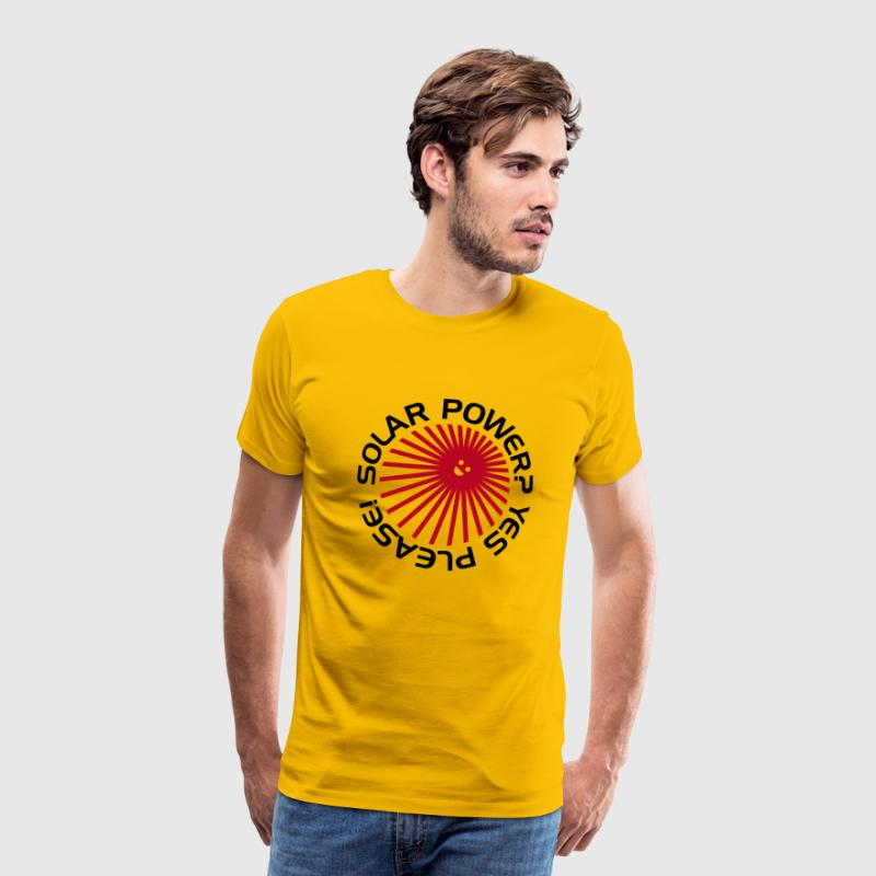 BD Solar Power - Men's Premium T-Shirt
