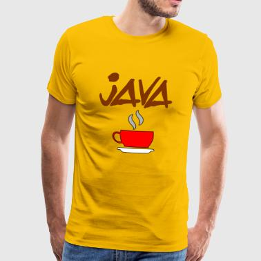 java coffee - Men's Premium T-Shirt
