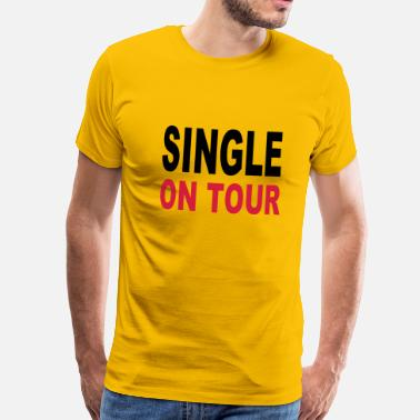 Single Single - Männer Premium T-Shirt