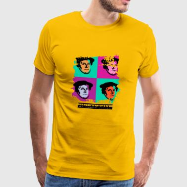 Luther Pop Art - Men's Premium T-Shirt