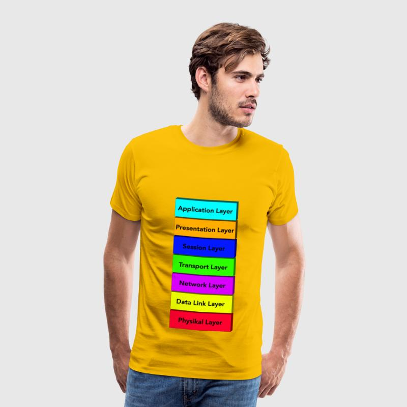 OSI model - Men's Premium T-Shirt
