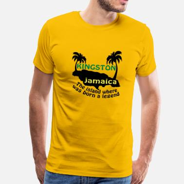 Jamaica kingston jamaica - Männer Premium T-Shirt