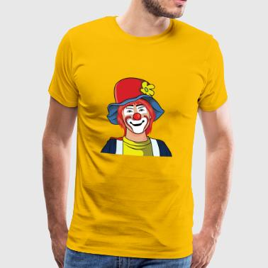 Clown - Männer Premium T-Shirt