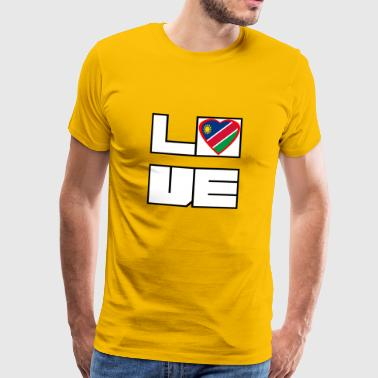 Love Land Roots Namibia - Männer Premium T-Shirt