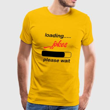 grappen laden - Mannen Premium T-shirt