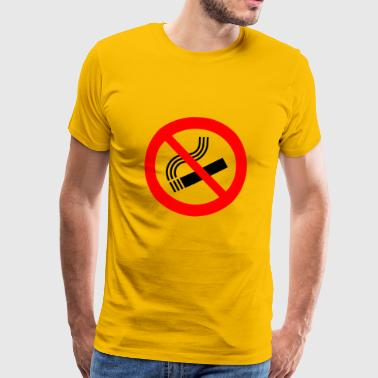 interdiction de fumer - T-shirt Premium Homme
