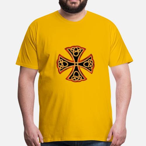 cruz antigua Camiseta premium hombre  62ee25e1f5f52