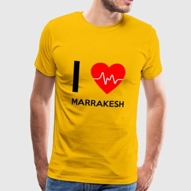 I Love Marrakech - I Love Marrakech - T-shirt Premium Homme