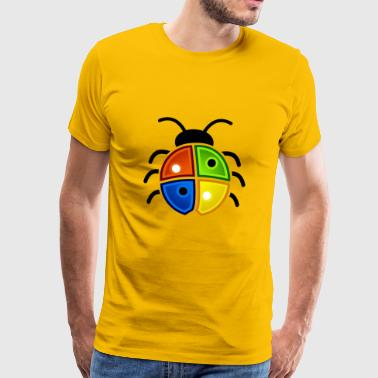 windows coccinelle - T-shirt Premium Homme