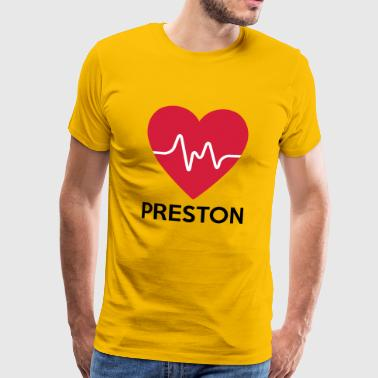 heart Preston - Men's Premium T-Shirt