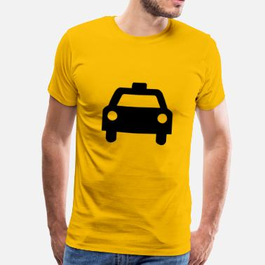 Cabs Yellow Cab - Taxi - Men's Premium T-Shirt