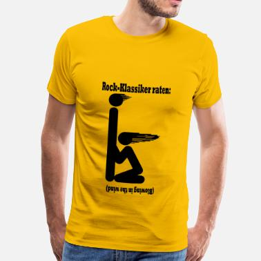 Dylan Blowing in the wind - schwarz - Männer Premium T-Shirt