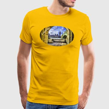 London / Westminster Bridge and Big Ben - Men's Premium T-Shirt