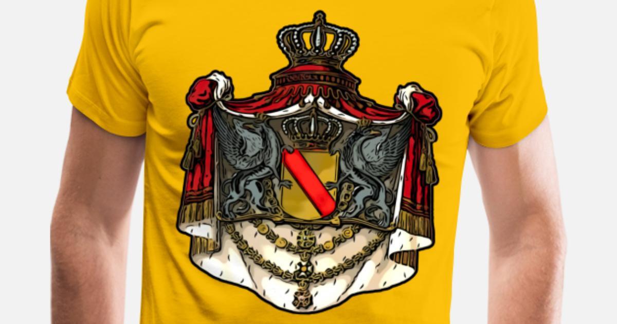 badisches Wappen   Großherzogtum Baden   Greif Männer Premium T-Shirt    Spreadshirt a1afbc2b8b