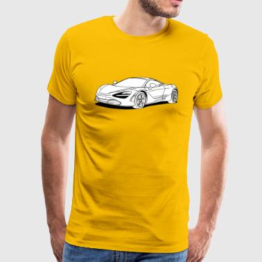 720s Coupe White - Men's Premium T-Shirt