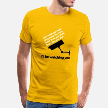 Step Brothers i'll be watching you - Premium T-shirt mænd