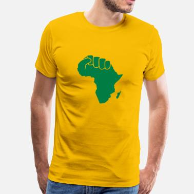 Hand Of Blood the power of africa - Männer Premium T-Shirt