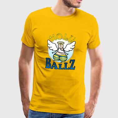 Holy Ballz Charlie - Men's Premium T-Shirt