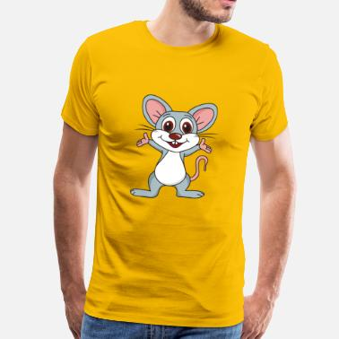 Fromager souris - T-shirt Premium Homme