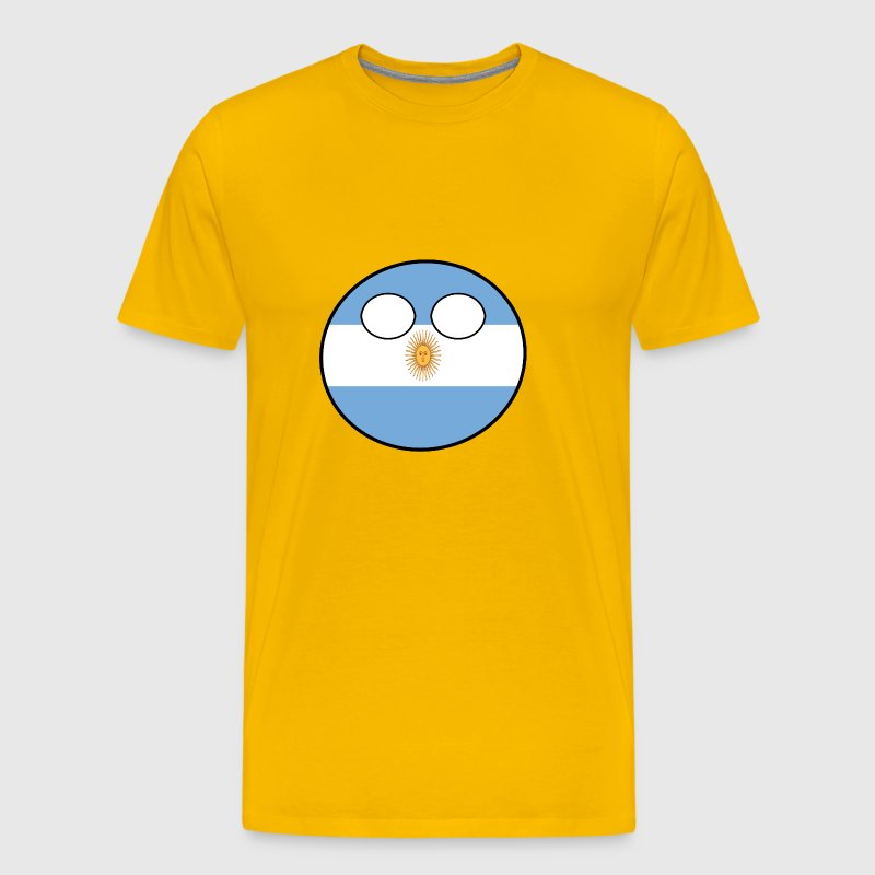Countryball Country Ball Country Home Argentina - Men's Premium T-Shirt