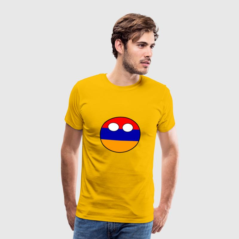 Countryball Country Ball Country Home Armenia - Men's Premium T-Shirt